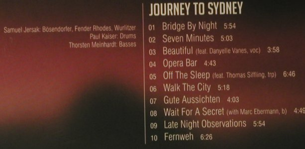 Jersak,Samuel: Journey to Sydney, Digi, FS-New, Jazz'n'Art(JnA 3607), , 2007 - CD - 97620 - 10,00 Euro