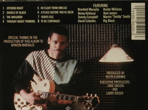 Eubanks,Kevin: Opening Night, GRP(), US, 1985 - CD - 97718 - 7,50 Euro