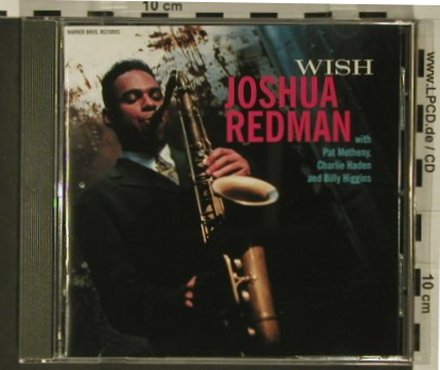 Redman,Joshua: Wish, WEA(), D, 1993 - CD - 97724 - 7,50 Euro