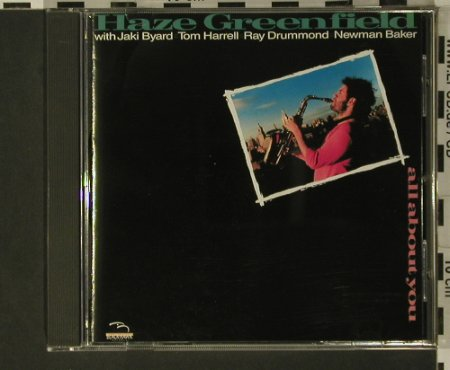 Greenfield,Haze: All about you, Blackhawk(BKH 535 cd), D, 1987 - CD - 97745 - 10,00 Euro