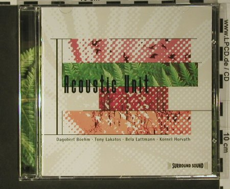 Acoustic Unit: D.Boehm,Lakatoss,Lattmann,Horvath, Inak(), , 1998 - CD - 97892 - 5,00 Euro