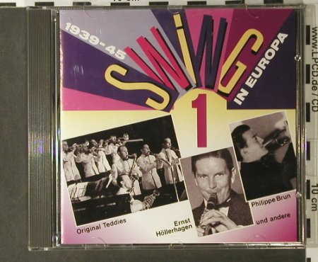 V.A.Swing in Europa 1: 1939-45, DA music(77173), D,  - CD - 98051 - 5,00 Euro