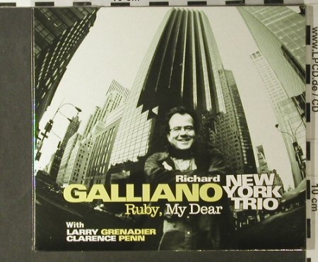 Galliano,Richard: Ruby, my Dear, Digi, FS-New, Dreyfus(), F, 2005 - CD - 98056 - 10,00 Euro