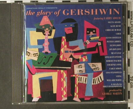 Gershwin by V.A.: The Glory Of,18Tr., Mercury(522 727-2), D, 1994 - CD - 98057 - 7,50 Euro