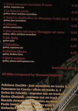 Palombo,Giovanni - Duos & Trios: Guitar Dialogues, Acoustic Music(), D, 2003 - CD - 98063 - 7,50 Euro
