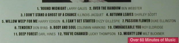 V.A.Jazz after Hours: Larry Gales...Milt Buckner, 13Tr., Emporio(), EU, 1995 - CD - 98073 - 5,00 Euro