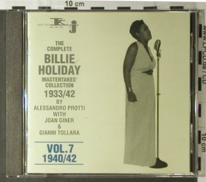 Holiday,Billie: Mastertakes Coll. 1933/42, Vol.7, King Jazz(KJ 162 FS), CH, 1993 - CD - 98169 - 7,50 Euro