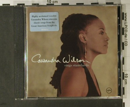 Wilson,Cassandra: sings Standards, Verve(589 837-2), EU, 2002 - CD - 98213 - 10,00 Euro