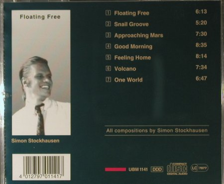 Stockhausen,Simon: Floating Free, UBM(1141), D, 1992 - CD - 98241 - 10,00 Euro
