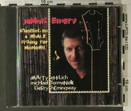 Emery,James: Standing On A Whale, Enja(ENJ-9312 2), D, 1997 - CD - 98244 - 7,50 Euro
