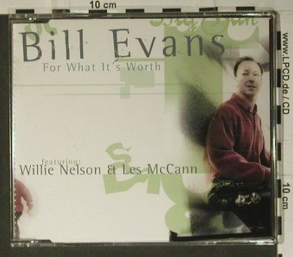 Evans,Bill - feat Willie Nelson: For What it's Worth+2, ESC(), EEC, 2002 - CD5inch - 98427 - 4,00 Euro