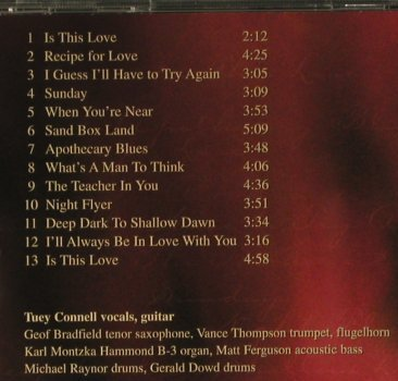 Connell,Tuey: To This Love, Minor(), , 2000 - CD - 98432 - 7,50 Euro