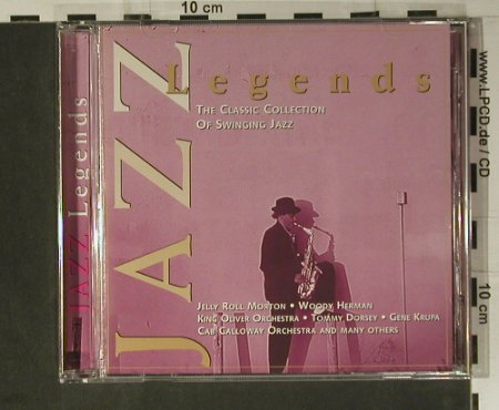 V.A.Jazz Legends: Count Basie...Ted Weems Orch.15 Tr., Master(0079), , 1997 - CD - 98433 - 5,00 Euro