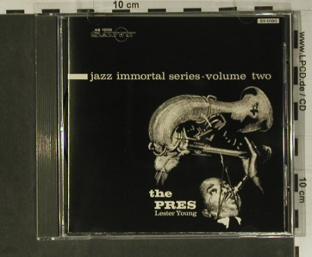 Young,Lester: Jazz Immortal Series,Vol.2-The Pres, Savoy(), J, 1992 - CD - 98451 - 7,50 Euro