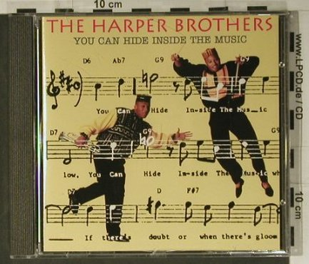 Harper Brothers: You Can Hide Inside The Music, Verve(), D, 1992 - CD - 98500 - 10,00 Euro