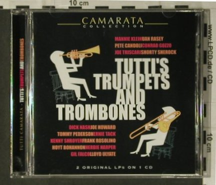 Tutti Camerata: Tutti's Trumpets And Trombones, Horatio Nelson Rec.(AMSC 739), UK, 2003 - CD - 98731 - 7,50 Euro