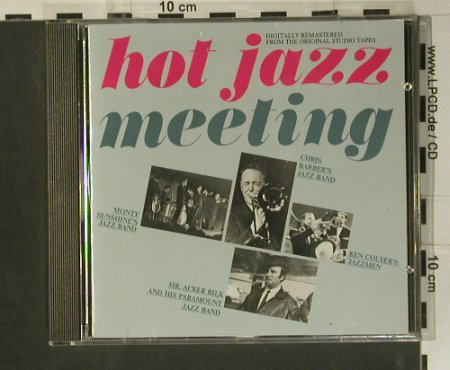 V.A.Hot Jazz: Meeting, 17 Tr., Polydor(834 745-2), D,  - CD - 98998 - 5,00 Euro