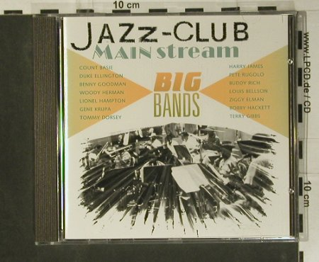 V.A.Jazz Club Mainstream: Big Bands, 18 Tr., Verve(845 153-2), D, 1991 - CD - 99000 - 5,00 Euro