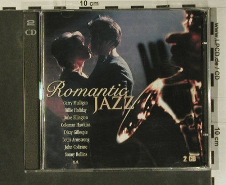 V.A.Romantic Jazz: Gerry Mulligan...Sonny Rollins, BMG(), EU, 2000 - 2CD - 99059 - 5,00 Euro