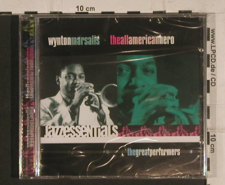 Marsalis,Wynton: The All American Hero, FS-New, Point Entertainment(), D, 2000 - CD - 99700 - 9,00 Euro