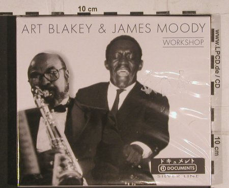 Blakey,Art & James Moody: Workshop, Boxed, FS-New, TIM(), CZ, 2001 - CD - 99706 - 5,00 Euro