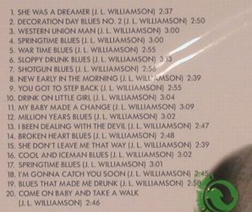 Williamson,John Lee: Broken Heart Blues, FS-New, TIM(), cz, 2001 - CD - 99708 - 5,00 Euro