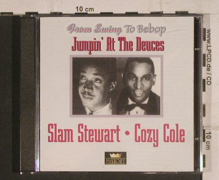 Stewart,Slam / Cozy Cole: Jumpin'at the Deuces, History(20.1970-HI), ,  - 2CD - 99768 - 5,00 Euro