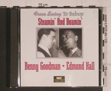 Goodman,Benny / Edmond Hall: Steamin' and Beamin', History(20.1975-HI), ,  - 2CD - 99770 - 5,00 Euro
