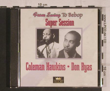 Hawkins,Coleman / Don Byas: Super Session, History(20.1962-HI), ,  - 2CD - 99772 - 5,00 Euro
