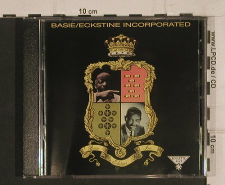 Basie,Count / Billy Eckstine: Incorporated, Roulette Jazz/EMI(), UK, 1994 - CD - 99779 - 10,00 Euro