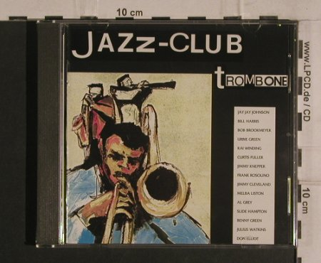 V.A.Jazz-Club: Trombone - Welcome to the.., 15 Tr., Verve(840 040-2), D, 1989 - CD - 99899 - 10,00 Euro
