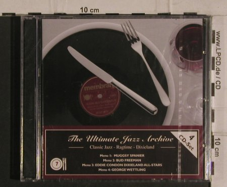 V.A.The Ultimate Jazz Archive 7: Classic Jazz,Ragtime,Dixieland, Membran(222763), D, FS-New, 2005 - 4CD - 99926 - 10,00 Euro