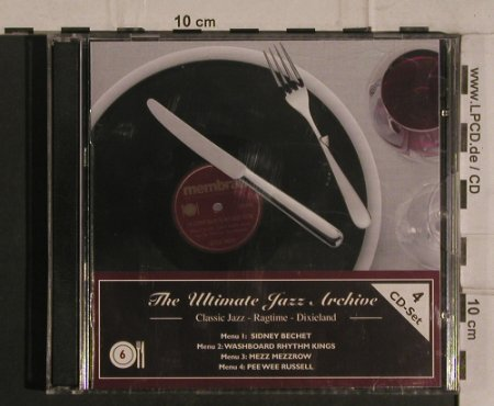 V.A.The Ultimate Jazz Archive 6: Classic Jazz,Ragtime,Dixieland, Membran(222762), D, 2005 - 4CD - 99927 - 10,00 Euro