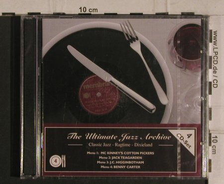 V.A.The Ultimate Jazz Archive 4: Classic Jazz,Ragtime,Dixieland, Membran(222760), D, FS-New, 2005 - 4CD - 99928 - 10,00 Euro