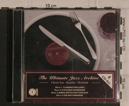 V.A.The Ultimate Jazz Archive 5: Classic Jazz,Ragtime,Dixieland, Membran(222761), D, 2005 - 4CD - 99929 - 10,00 Euro