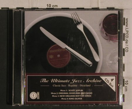 V.A.The Ultimate Jazz Archive 1: Classic Jazz,Ragtime,Dixieland, Membran(222757), D, 2005 - 4CD - 99930 - 10,00 Euro