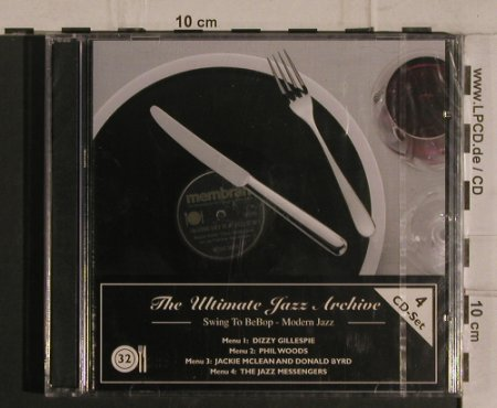 V.A.The Ultimate Jazz Archive: 32 - Swing to BeBop-Modern Jazz, Membran(222788), D, FS-New, 2005 - 4CD - 99932 - 10,00 Euro