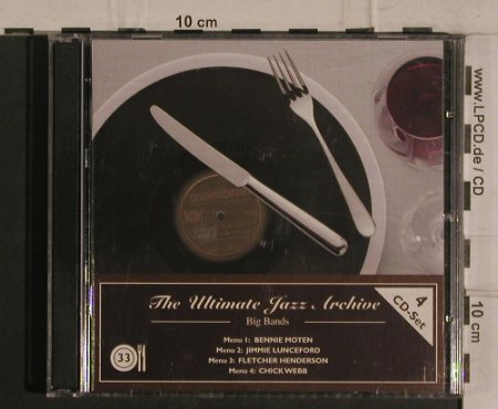 V.A.The Ultimate Jazz Archive 33: Big Bands, Membran(222789), D, 2005 - 4CD - 99933 - 10,00 Euro
