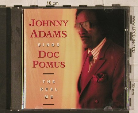 Adams,Johnny: Sings Doc Pomus: the Real Me, Zensor(ZS 119), D, 1991 - CD - 83814 - 5,00 Euro