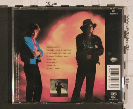 Vaughan,Stevie Ray+D.T.: Couldn't stand the Weather, Epic(), A, 1984 - CD - 83815 - 7,50 Euro
