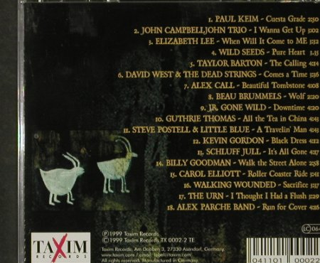 V.A.Feeling Taxim 2: Paul Keim... Alex Parche Band,18Tr., Taxim(TX 0002-2), D, 1999 - CD - 92886 - 6,00 Euro
