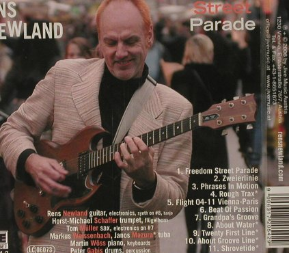 Newland,Rens: Freedom Street Parade, FS-New, Jive(), , 2006 - CD - 93059 - 10,00 Euro