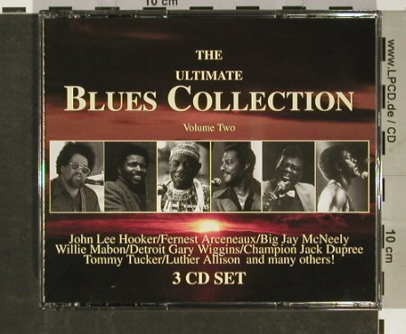 V.A.The Ultimate Blues Collection: Volume Two, CMA(11002/5/8), D, 1992 - 3CD - 93108 - 10,00 Euro