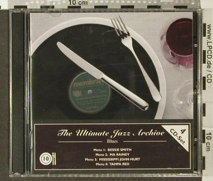 V.A.The Ultimate Jazz Archive: 10-Blues, Membran(222766), , 2005 - 4CD - 93961 - 10,00 Euro