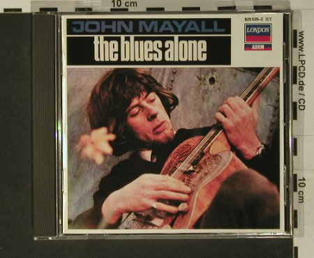 Mayall,John: The Blues Alone, Deram(820 535-2), UK, 1967 - CD - 97805 - 7,50 Euro