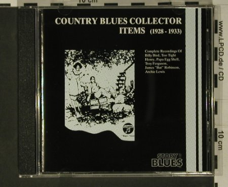 V.A.Country Blues: Collectors Item 1928-1933, DA Music(3534-2), D, 1992 - CD - 97893 - 10,00 Euro