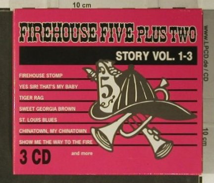 Firehouse Five plus 2: Story Vol.1-3, Box Set, ZYX(7701-2), D, 1990 - 3CD - 98990 - 12,50 Euro