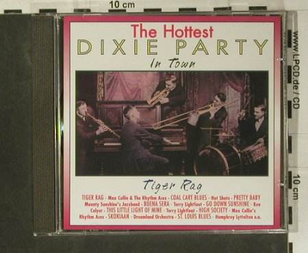 V.A.Dixie Party - the Hottest: Tiger Rag, Pastels(20.1606), EEC, 1995 - CD - 99050 - 5,00 Euro
