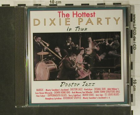 V.A.Dixie Party - the Hottest: Doctor Jazz, Pastels(20.1605), EEC, 1995 - CD - 99051 - 3,00 Euro