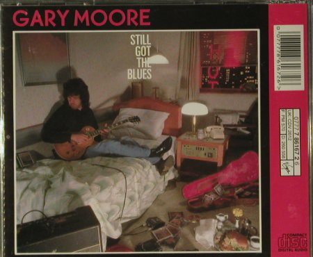Moore,Gary: Still Got The Blues, Virgin(), NL, 1990 - CD - 99098 - 7,50 Euro